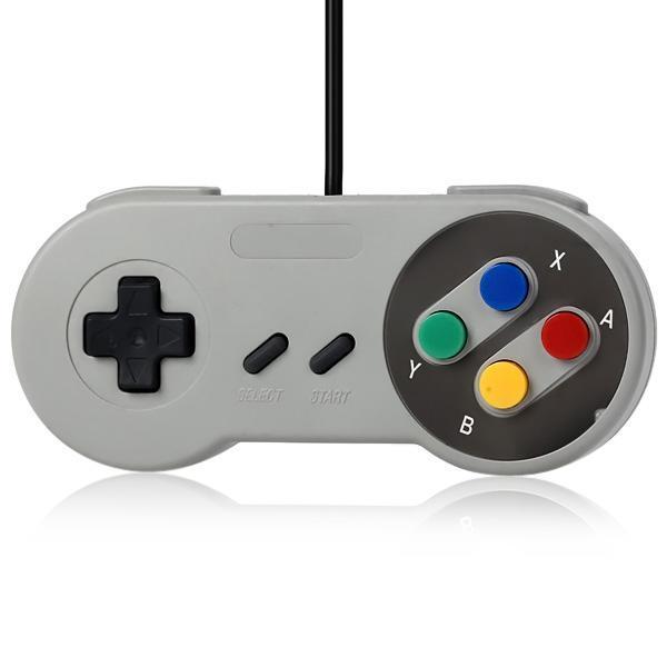Супер компьютер красочные кнопки игровой контроллер с магнитный круг USB-кабель