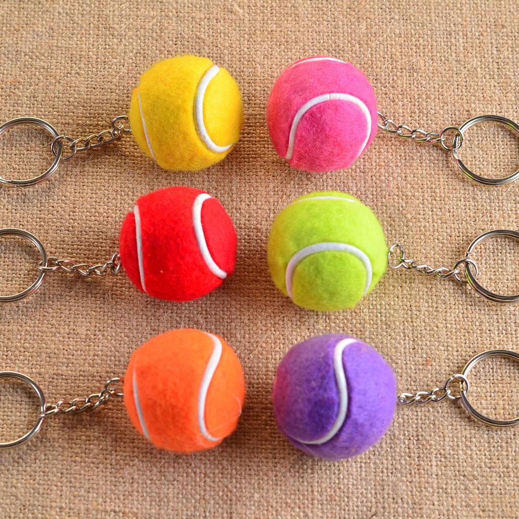 Стильный теннисный мяч Кулон сплава брелок