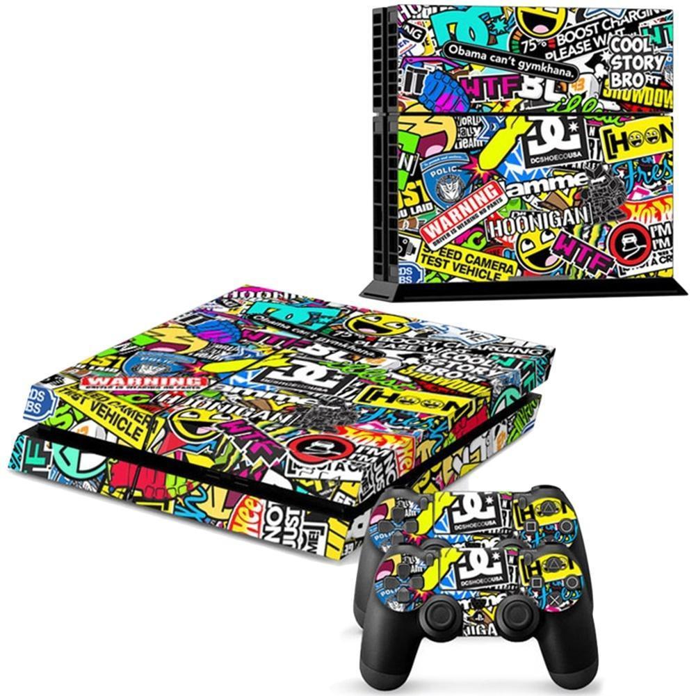 Графики виниловые наклейки кожу для PS4 Playstation & 2 контроллера наклейки tony 2 74 alfa romeo mito 147 156 159 166 giulietta gt