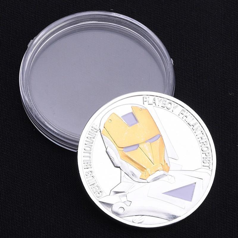 Памятная монета двойной цвет серебристый трансформаторы трансформаторы