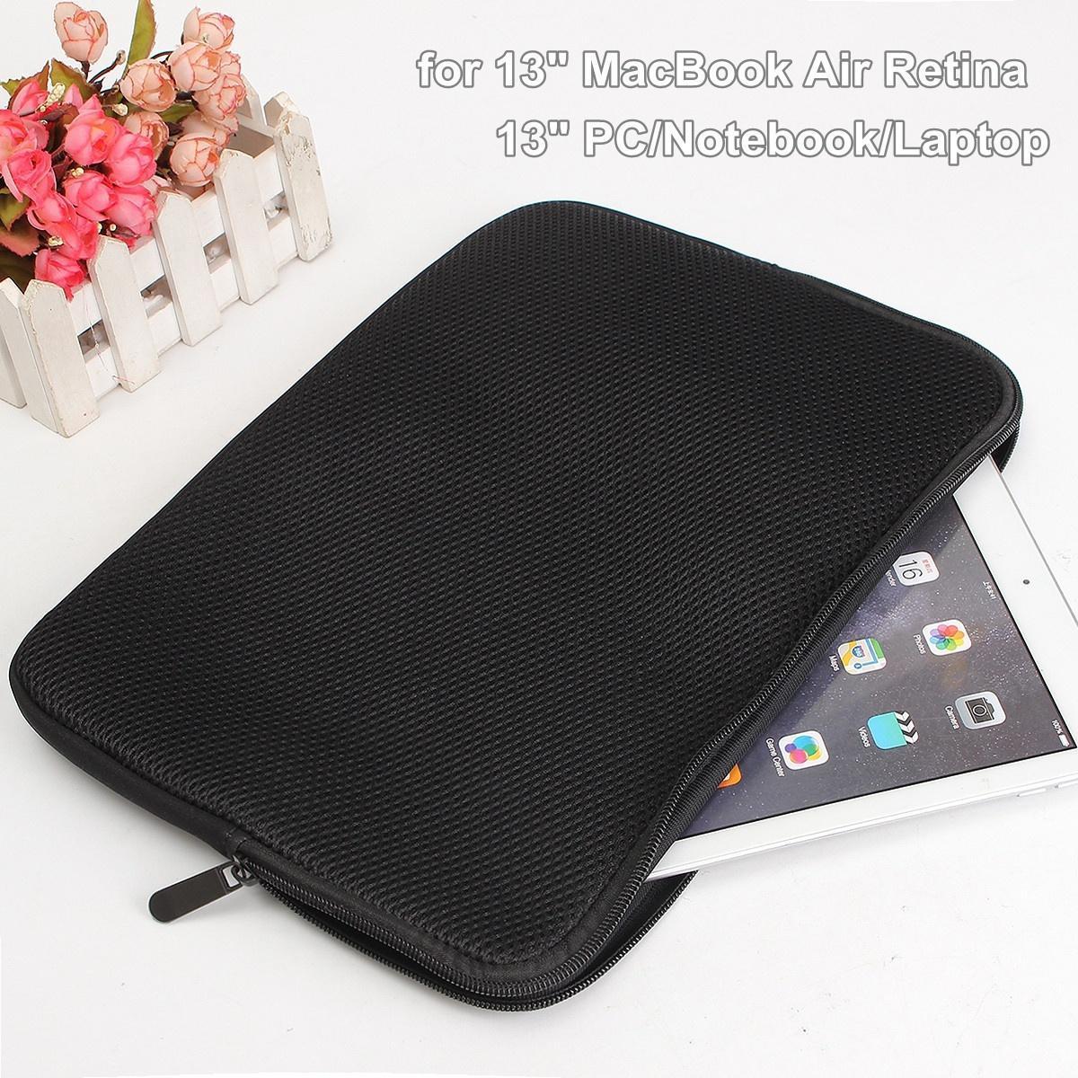 Защиты молнии рукав 13 ноутбук ноутбук сумка чехол для 13 MacBook Air Pro Retina(33x24x1.5cm) накладка daav для macbook air 13 retina оранжевый