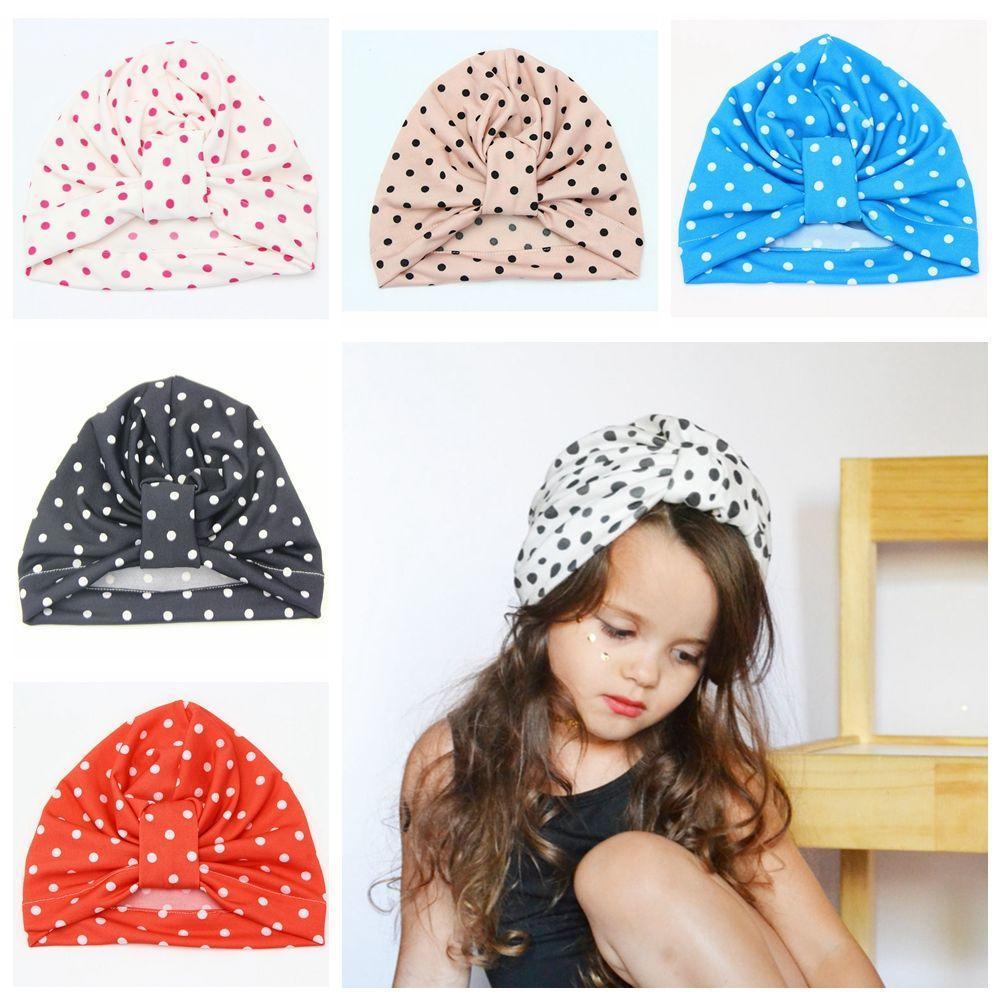 Хлопок тюрбан Beanie Baby шапки волос бандана новорожденных шапки шапки loricci бандана шарф