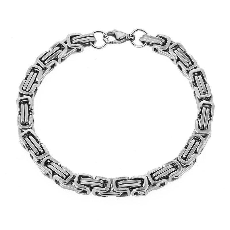 Поле цепь браслет Карабинчиком для мужских ювелирных украшений