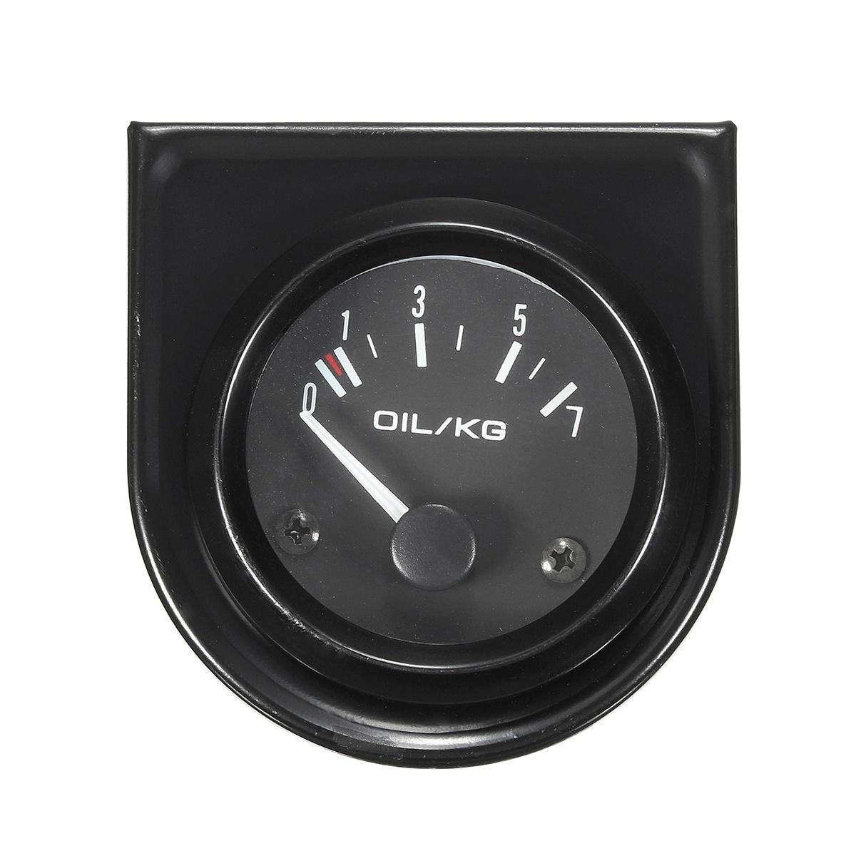 2'' 52 мм универсальный автомобиль белый Светодиодные Черные циферблаты указателя давления масла ... itap 143 2 редуктор давления
