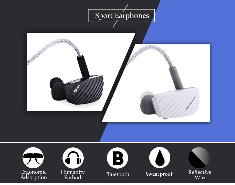 Joyeux GT5 Bluetooth V4.1 беспроводной шума аннулирования спортивные наушники наушники jbl gt5 2402br