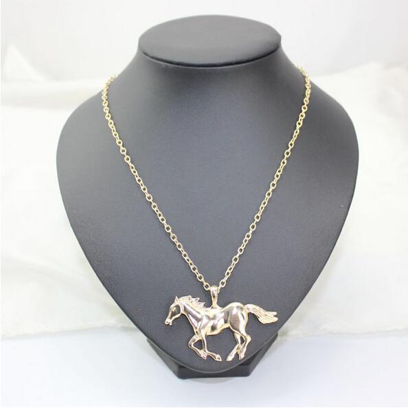 Ожерелье горячие Верховая Кулон Золотая цепочка сталь нержавеющая унисекс мужчин