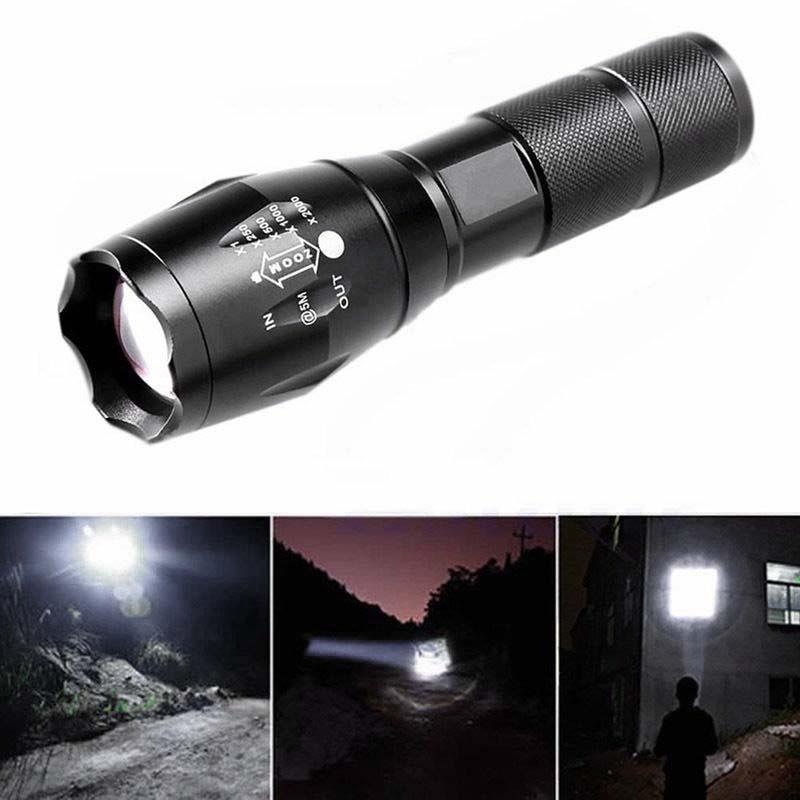 XML T6 светодиодный фонарик Zoomable водонепроницаемый лампа факел 18650/AAA sitemap 96 xml