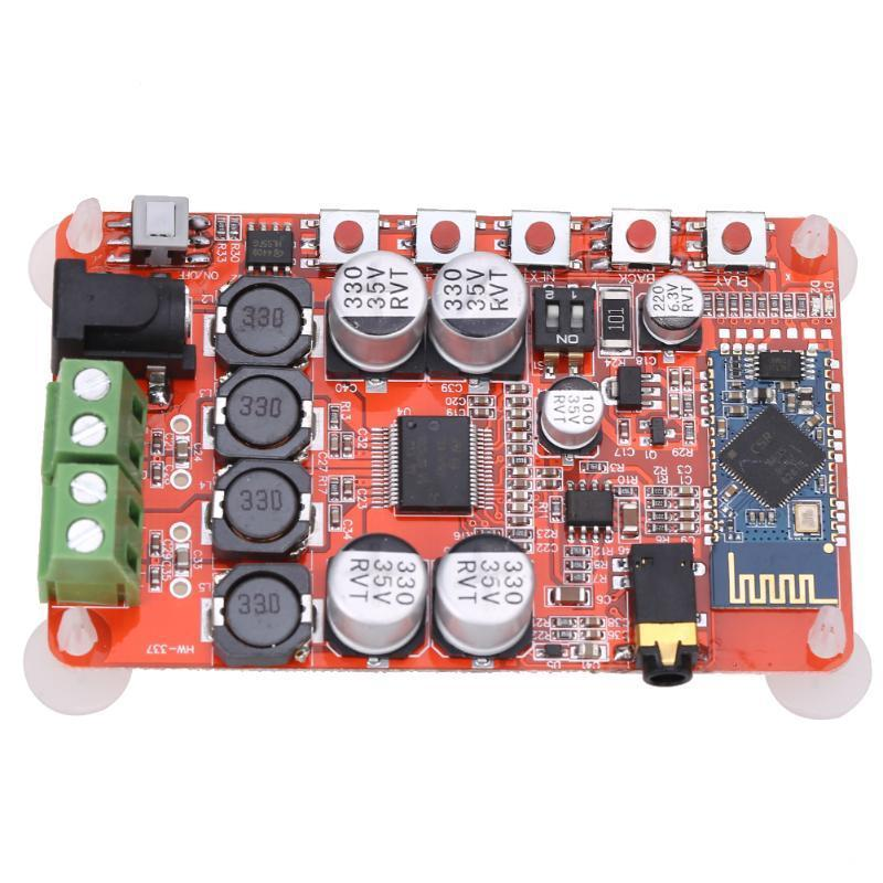 TDA7492P 50W + 50W Bluetooth 4.0 аудио приемник цифровой усилитель Совет аудио усилитель ljm lm4766 50w 50w
