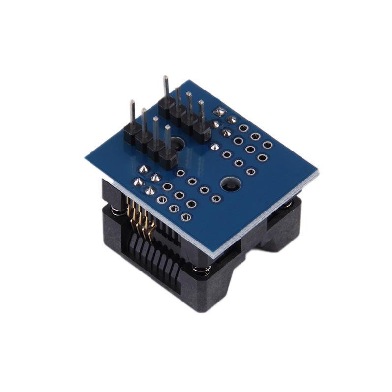 SOP8 DIP8 широкофюзеляжный место широкий 200mil программист адаптер разъем tlp351 sop 8