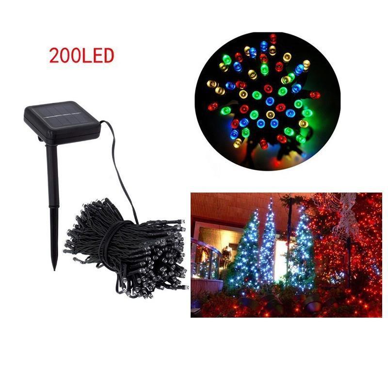 HomeLife 20,4 м 200 Водонепроницаемые светодиодные лампы продажа строка рождественские венки Свад...