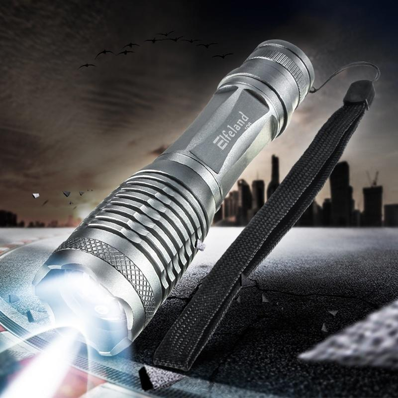 UltraFire 2200 люмен CREE T6 XML привело зумирования фонарик 18650 AAA факел серебро sitemap 155 xml