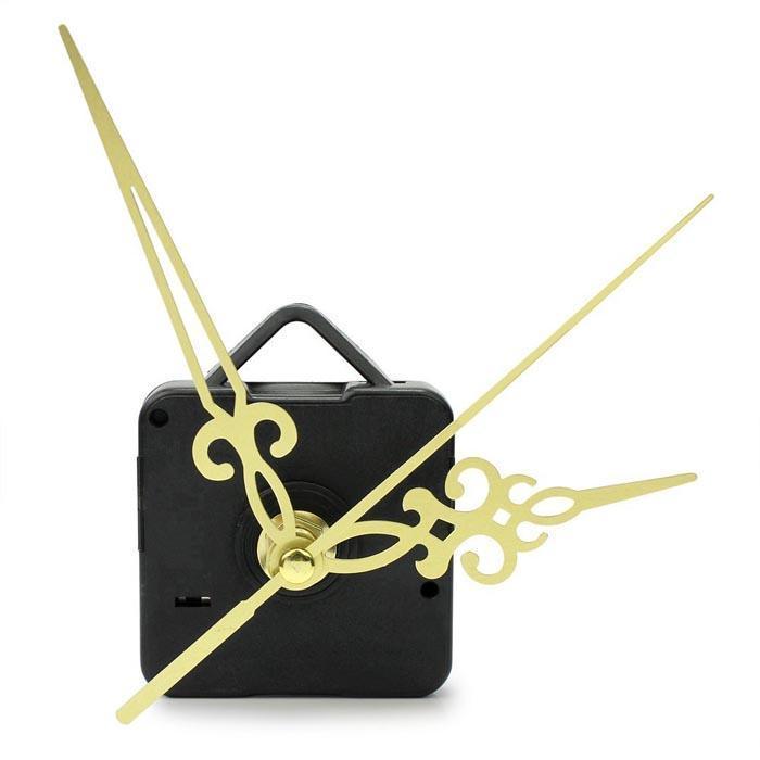 Золотые руки простой DIY кварцевые настенные часы движение механизм замены
