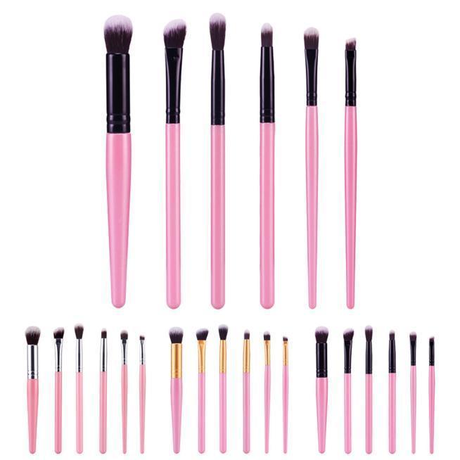 6 Pcs Pro косметические кисти макияж кисти наборы Наборы инструментов наборы