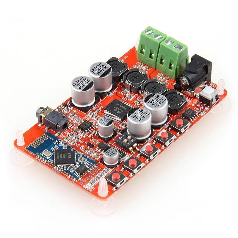 TDA7492P 50W + 50W Bluetooth4.0 аудио приемник цифровой усилитель компонент доска конец аудио усилитель ljm lm4766 50w 50w