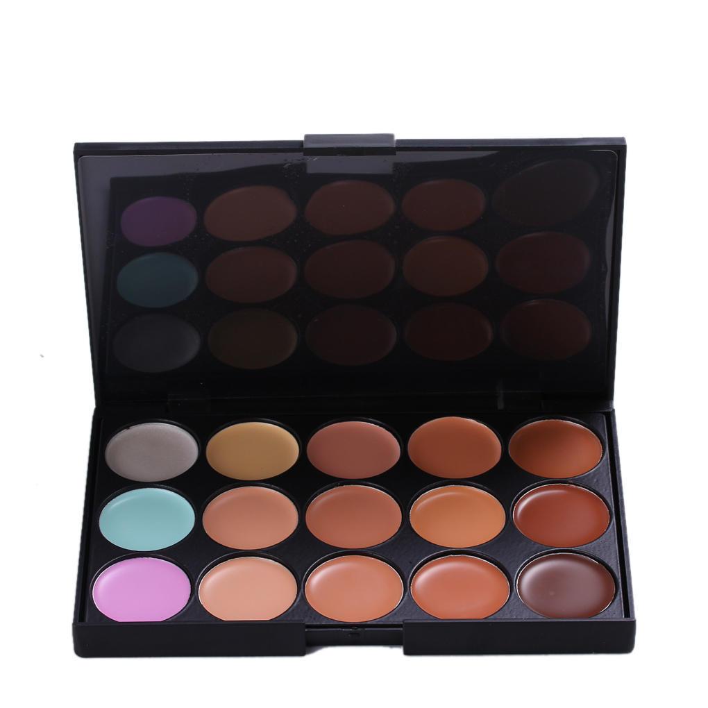 15 цветов контур лица крем макияж маскирующее палитра макияж лица