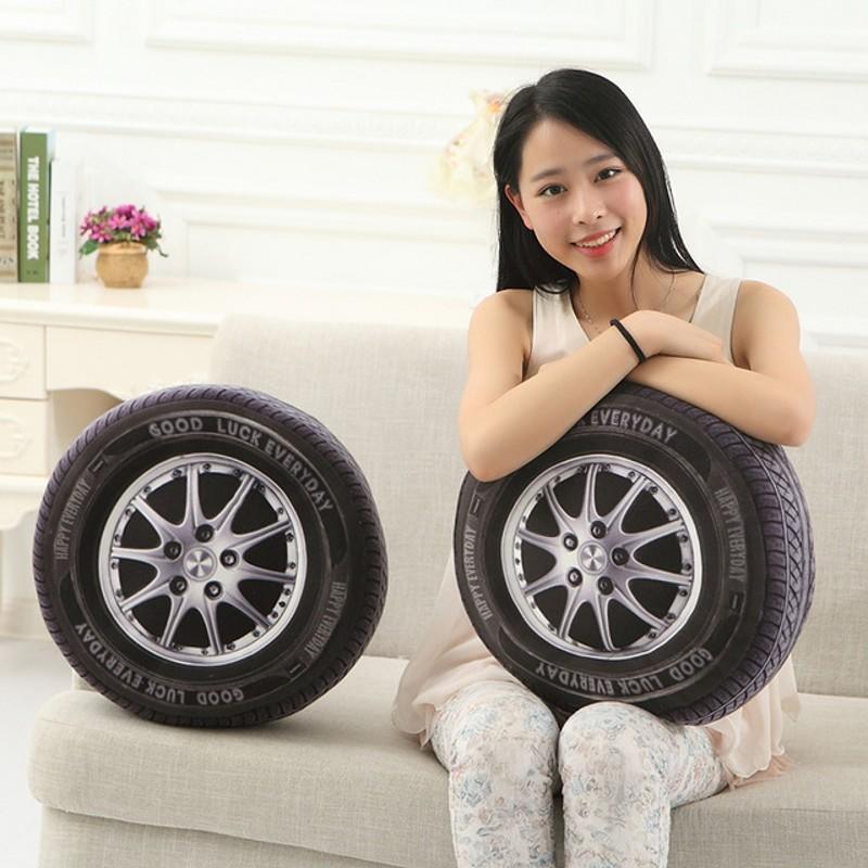 Персонализированные 3d шин колес Подушка плюшевая мальчик игрушка автомобиль на дома Наволочка дл... ортопедическая подушка в автомобиль в кировограде