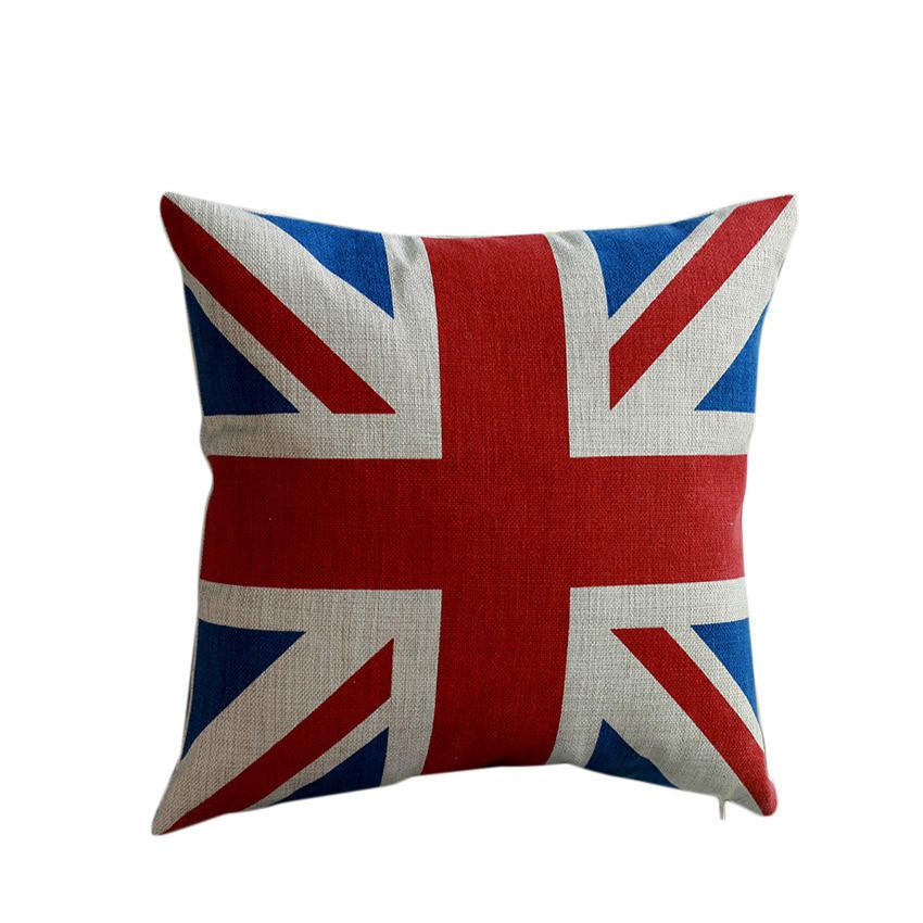 Bessky декоративные дома автомобиль кровати диван британский флаг классический случай подушка нав... ортопедическая подушка в автомобиль в кировограде