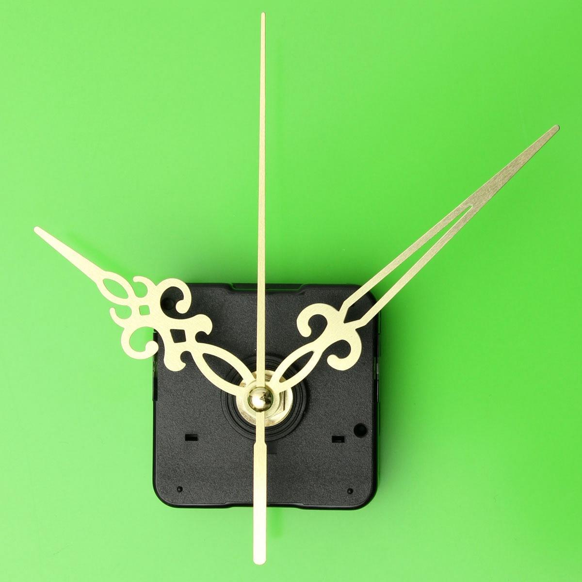 Золотые руки DIY кварцевые часы движение механизм ремонта инструмент частей комплект