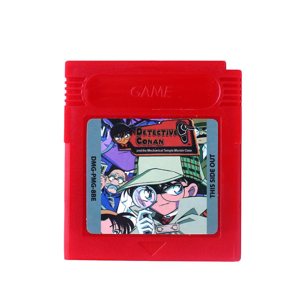 Детектив Конан Repro игра мальчик Цвет GBC/GB/GBA/SP видеоигр картридж только ламинатор gbc fusion 1000l a4 black