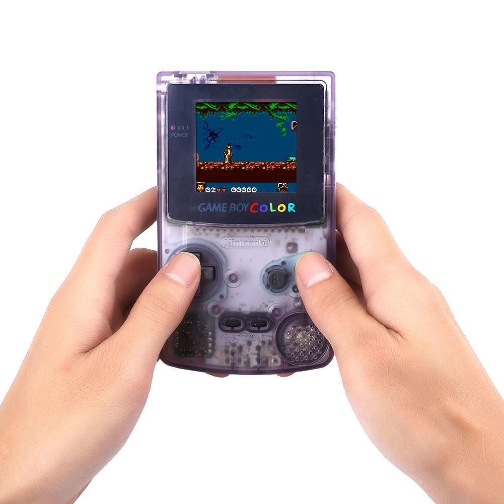 Игра мальчик Цвет GBC ясно фиолетовый игровой контроллер для Nintendo испытания ламинатор gbc fusion 3100l