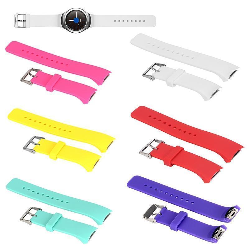 цена на Силиконовые замена часы группа ремешок для Samsung Galaxy S2 Gear
