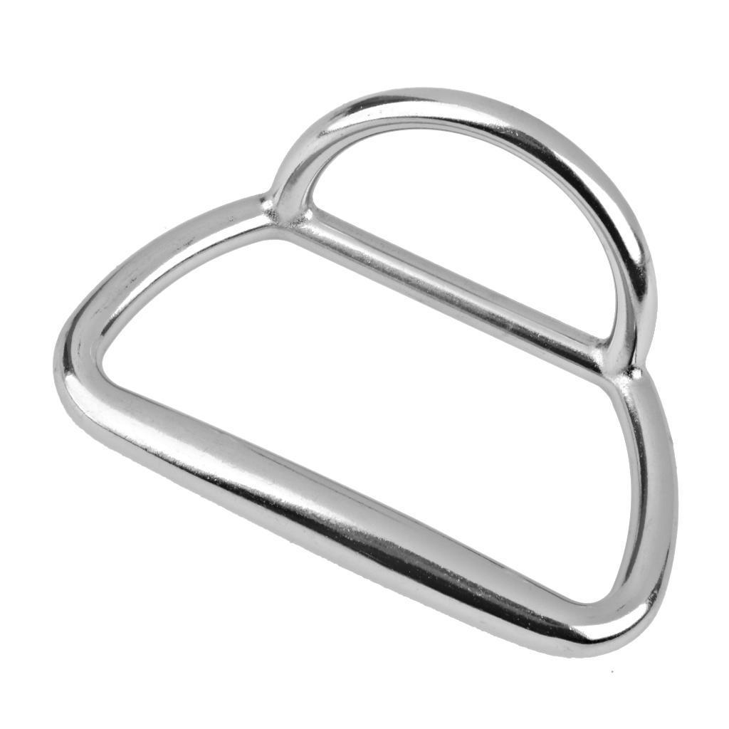 MagiDeal из нержавеющей стали, буксировочные кольца для рыболовецких лодок серебра