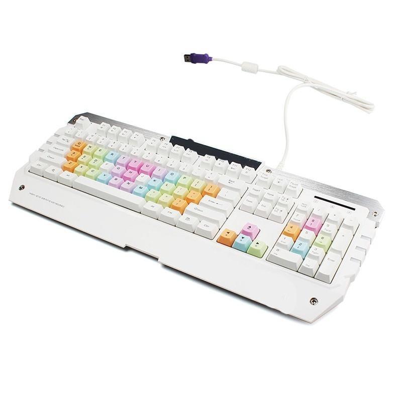 Компьютер периферийных клавиатура USB проводной игровой клавиатуры ПК/ноутбук