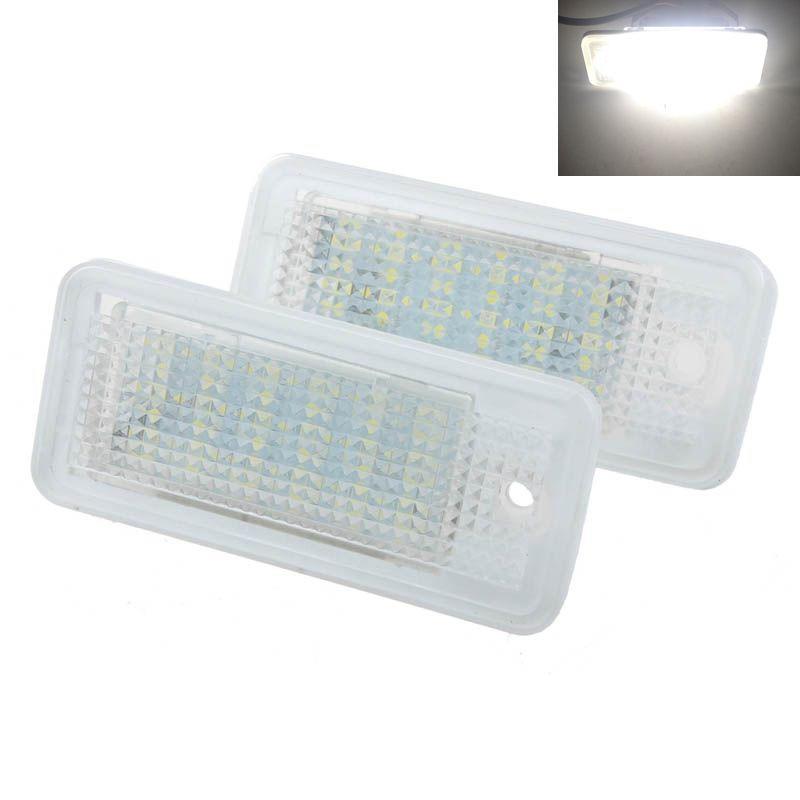 2шт 18 LED ошибка свободного номерного света лампа для Audi A3 A4 S6 A6 Q7 доска для объявлений dz j1a 169 led led jndx 1 s a