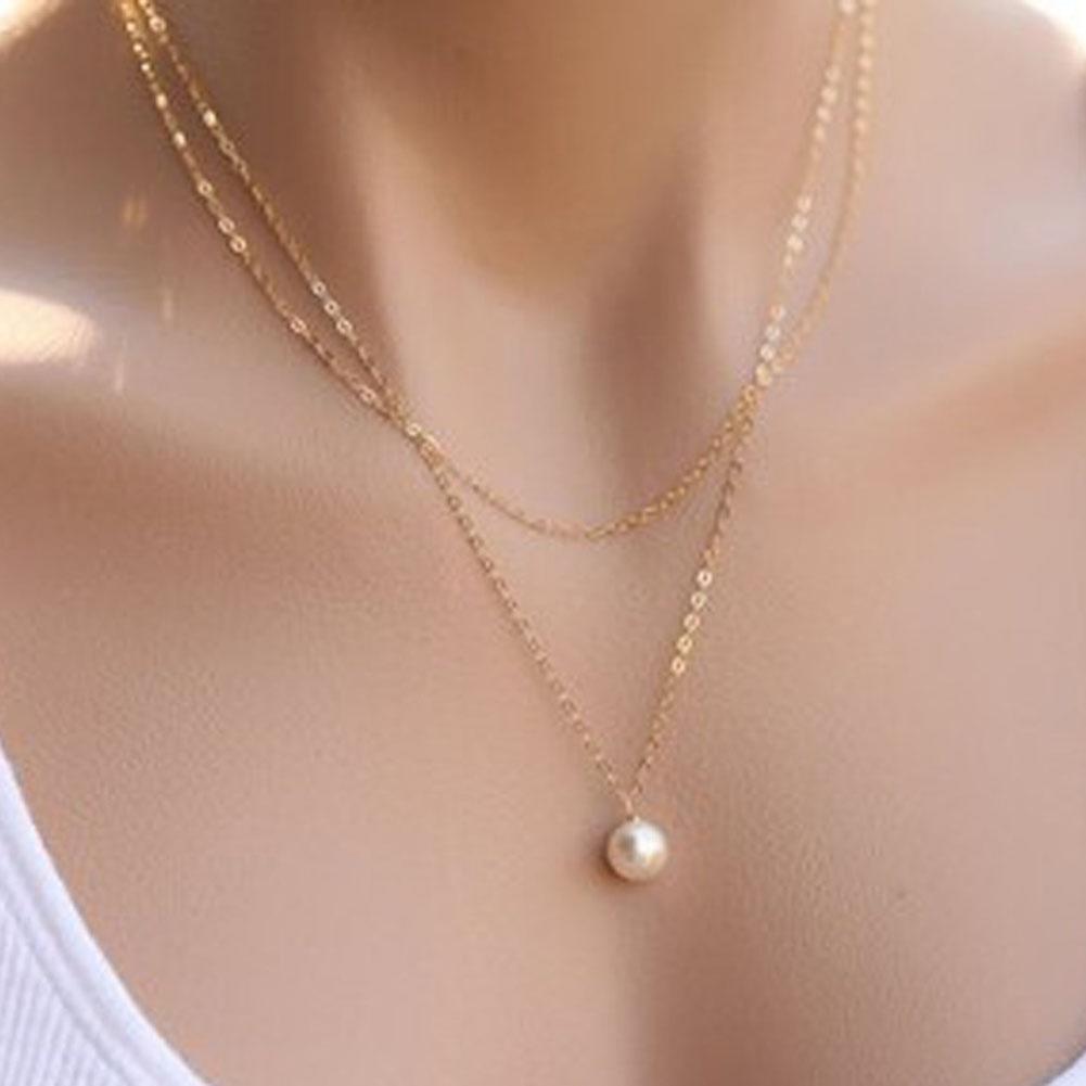 Женщины новой мода ожерелье красота и элегантный жемчужное ожерелье