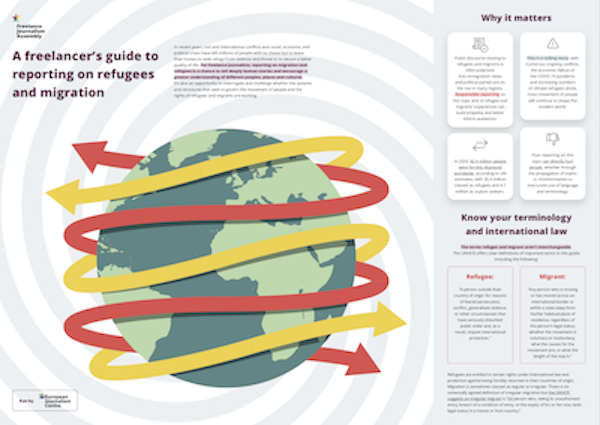 A freelancer's guide to reporting on refugees and migration