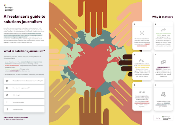A freelancer's guide to solutions journalism