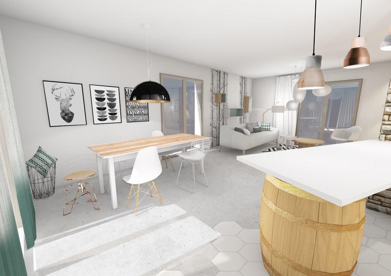 agencer un grand s jour contemporain et scandinave sans se tromper. Black Bedroom Furniture Sets. Home Design Ideas