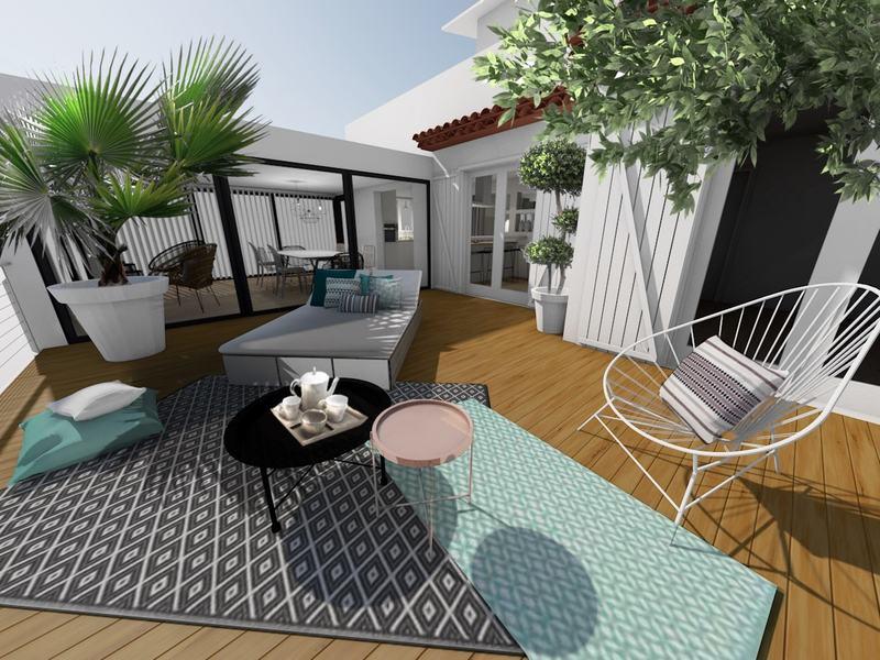 Un salon de jardin dédié au repos et à la détente