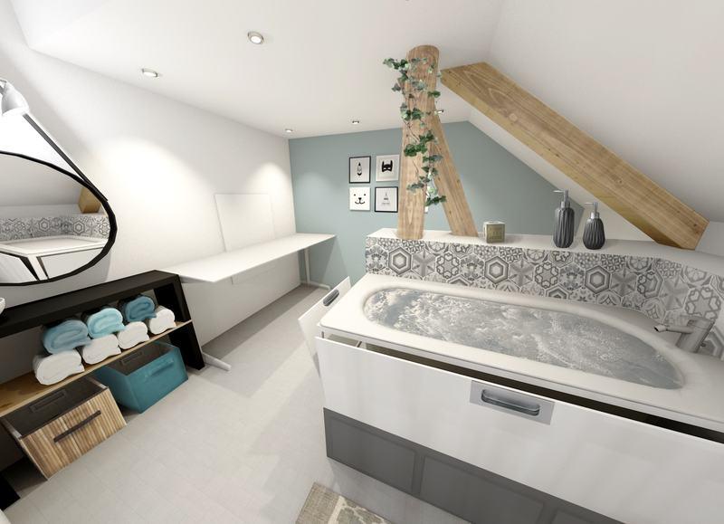 projet d 39 am nagement pour une jolie petite famille partie 2. Black Bedroom Furniture Sets. Home Design Ideas