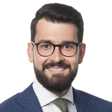 Profilbild von Anwalt Nino Sievi