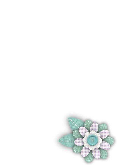 Huwelijksjubileum bloemen vlinders tekst 3
