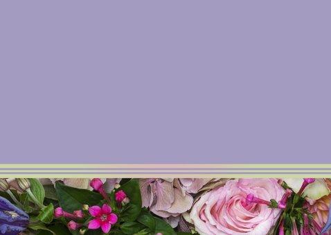 Bloemen roze luxe najaarsboeket 3