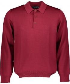 Pullover Polokragen, Knopf 1/1 Arm