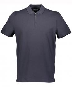 Shirt Polohemd Zip, 1/2 Arm