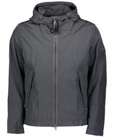 Jacket, regular fit, hood, zipper
