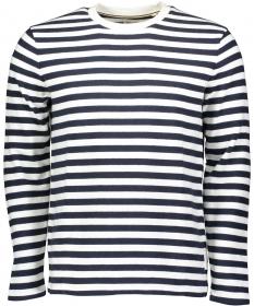 T-shirt, long sleeve, 1x1 rib at co