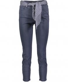 5 Pocket, mid waist, slim fit, crop