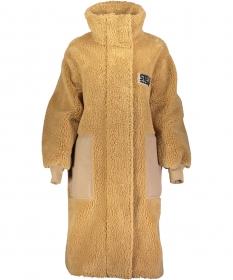 Mantel aus Teddy Mat