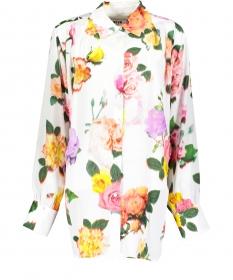 Bluse mit Floralprint