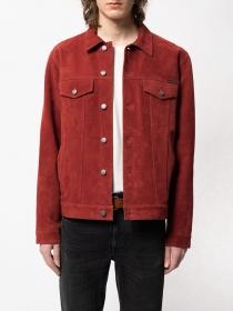 Jacke Robby Suede Jacket Poppy red