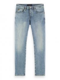 Ralston Jeans aus Bio-Baumwolle – Turquoise