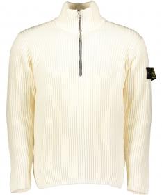 Wollpullover mit Half-Zip