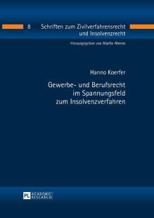 gewerbe und berufsrecht im spannungsfeld zum insolvenzverfahren pdf