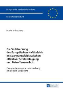 die vollstreckung des europaeischen haftbefehls im spannungsfeld zwischen effektiver strafverfolgung und betroffenenschutz pdf