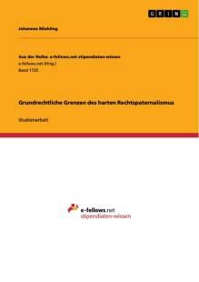 grundrechtliche grenzen des harten rechtspaternalismus pdf